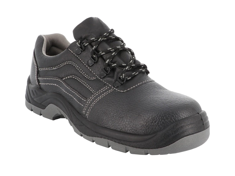 S3 SRC. Chaussures basses cuir grain�