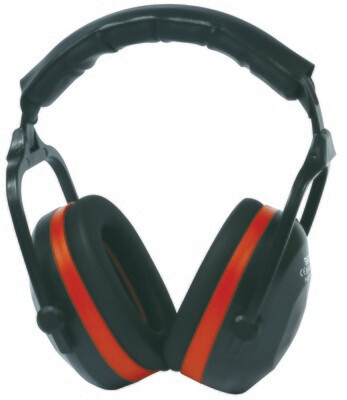 Casque (serre-tete) anti-bruit. SNR: 27,6 db.   (Paquet de 10)