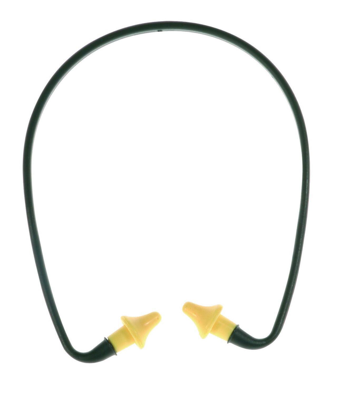 Bouchons d'oreille en polyurethane avec arceau. SNR: 21dB.  (Paquet de 40)