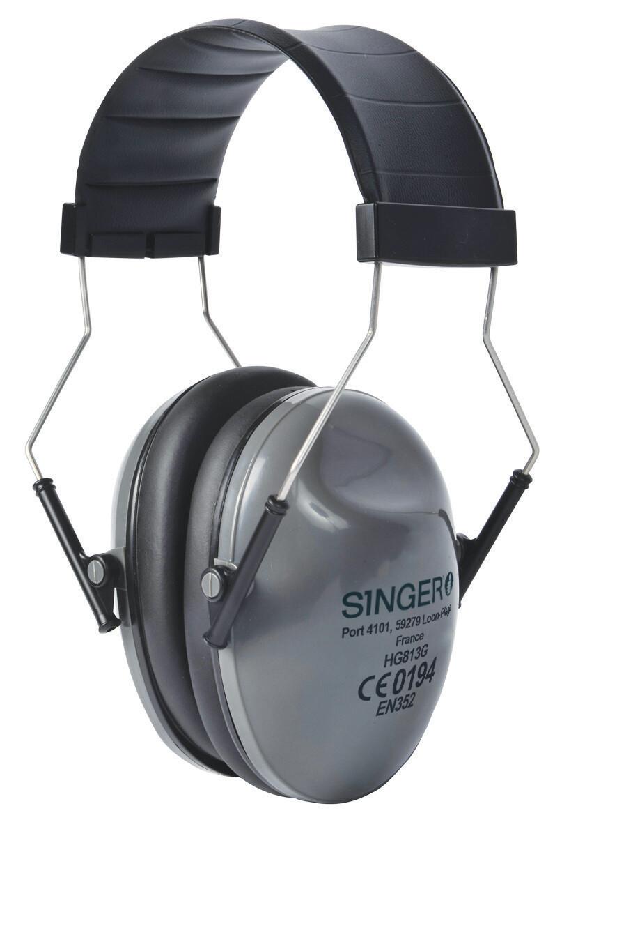Serre-tête antribuit. Ergonomique. SNR:28 dB.