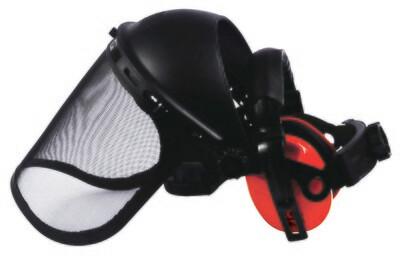 Kit protection visage. Visiere + antibruit 27,6 dB