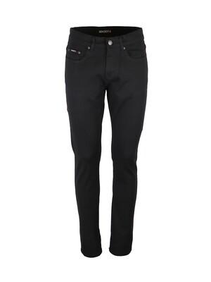 Jeans 98% Coton, 2% Elasthane. Coloris Noir