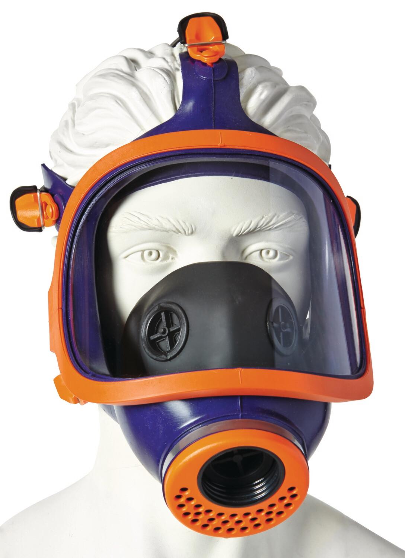 Masque respiratoire panoramique. En silicone. CL2.