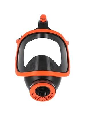Masque respiratoire panoramique. Caouchouc.  CL2.