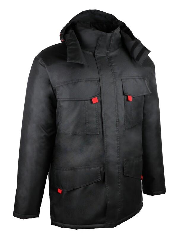 Vêtement de protection chaud,  3 x 1, constitué de 2 pièces.
