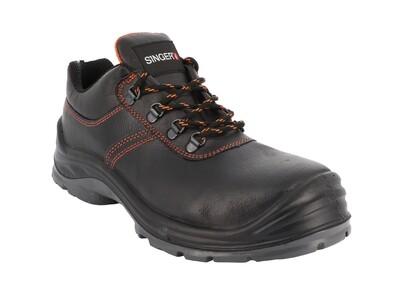 Chaussures basses cuir graine. S3 SRC