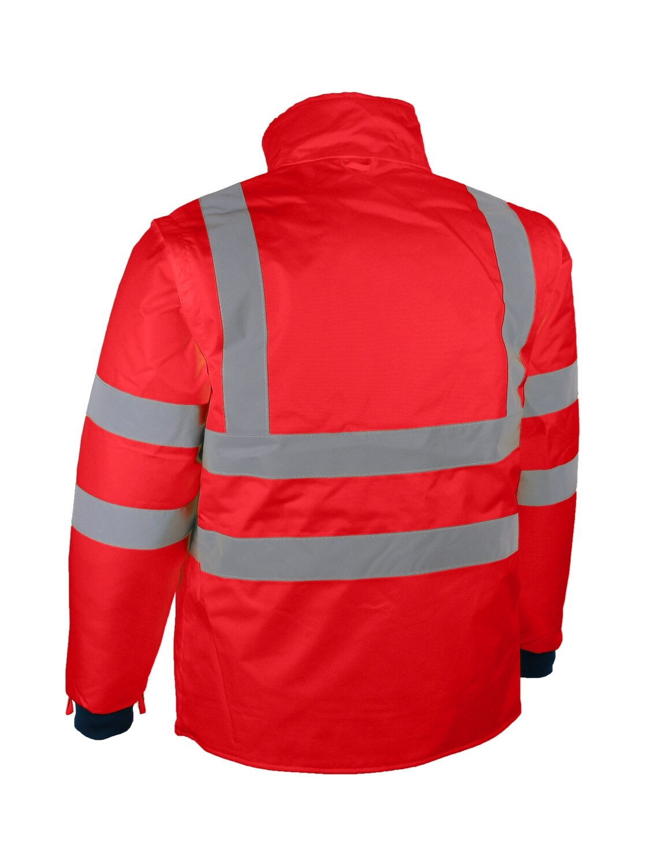 Parka/veste amovible + manches longues amovibles (4x1)