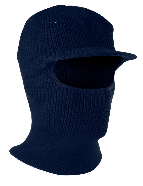 Passe-montagne tricote. Acrylique. (Paquet de 10)
