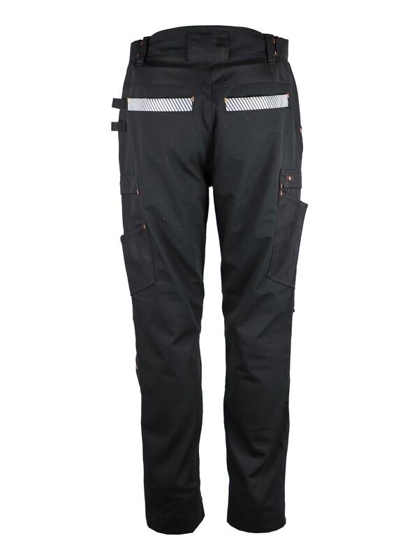 Pantalon de travail ripstop. Coton/polyester/élasthanne 280 g/m2