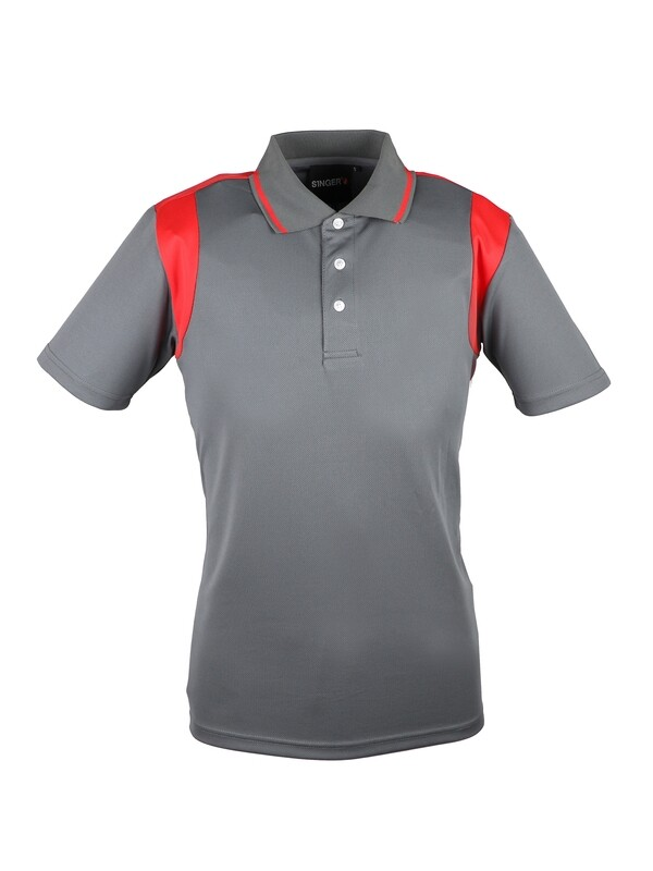 Polo 100% polyester. Cooldry®. Tricot bird-eye 150 g/m2.
