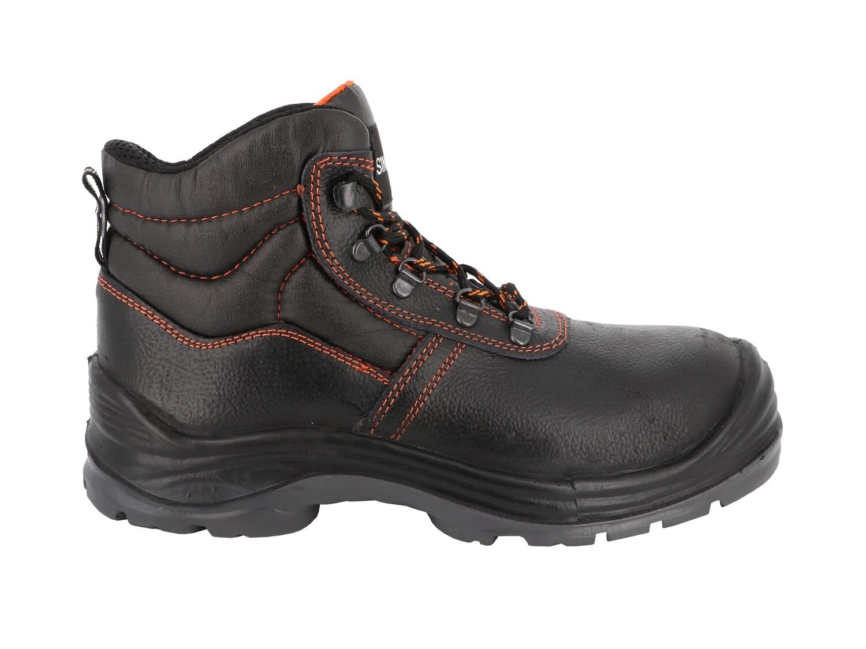 S3 SRC. Chaussures hautes cuir graine
