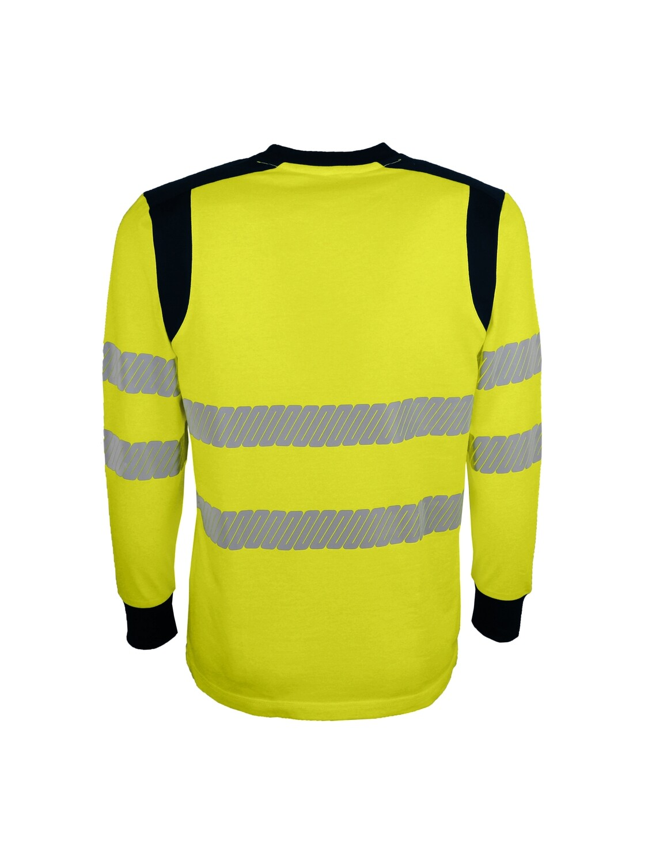 T-shirt haute visibilite retardateur de  flammes, multi-risques