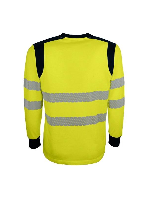 T-shirt haute visibilité retardateur de  flammes, multi-risques