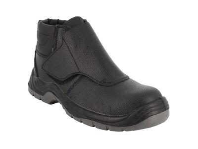 S1P SRC. Chaussures haute cuir graine