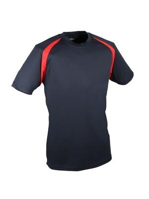 T-shirt 100% polyester. Cooldry�. Tricot bird-eye 150 g/m2.