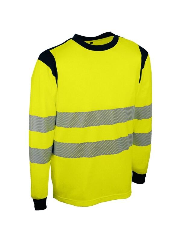 T-shirt à manches longues 55% coton, 45% polyester. 170 g/m²