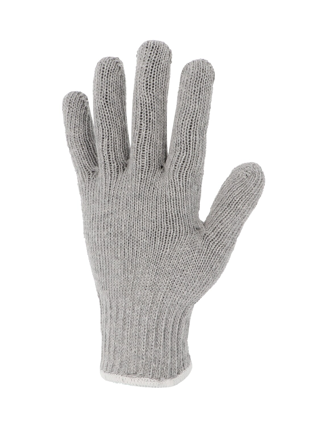 Gant polyester/coton. Jauge 7. Fibres recyclees. (10 paires)