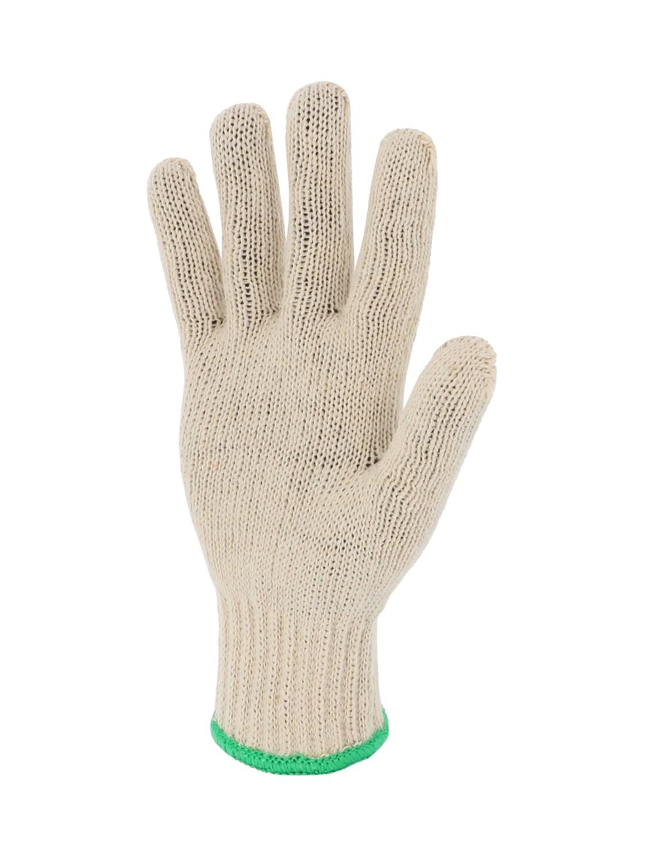 Gant polyester/coton. Poignet élastique. Jauge 7.
