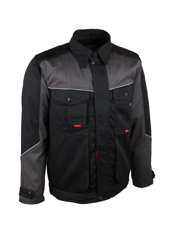 Veste de travail. Coton/polyester (65/35). 300 g/m2
