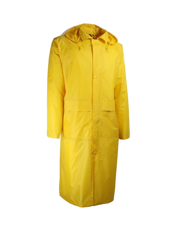 Manteau de pluie. PVC souple. Support polyester.