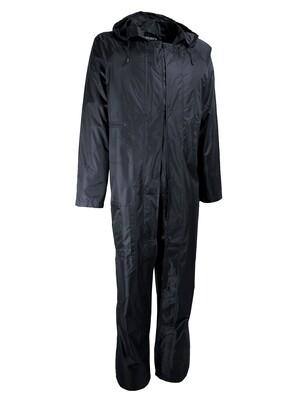 Combinaison de pluie. PVC souple. Support polyester.