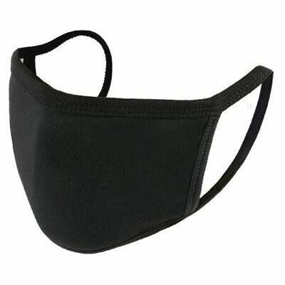 Masque en tissus 2 couches avec pochette pour filtre (non compris)