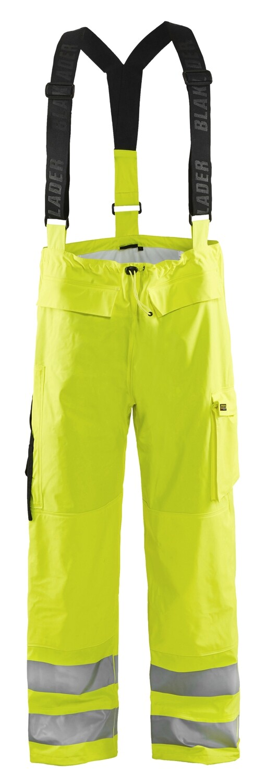 Pantalon de pluie à bretelles HV retardant flamme