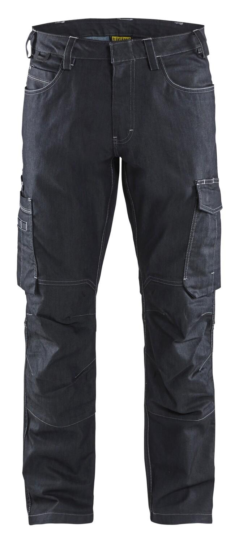 Pantalon maintenance denim stretch 2D