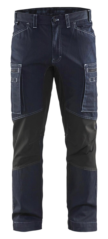 Pantalon maintenance denim +stretch
