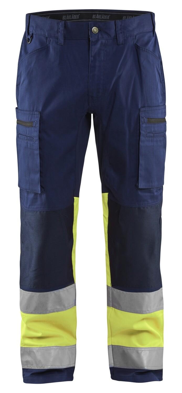 Pantalon artisan haute-visibilité +stretch