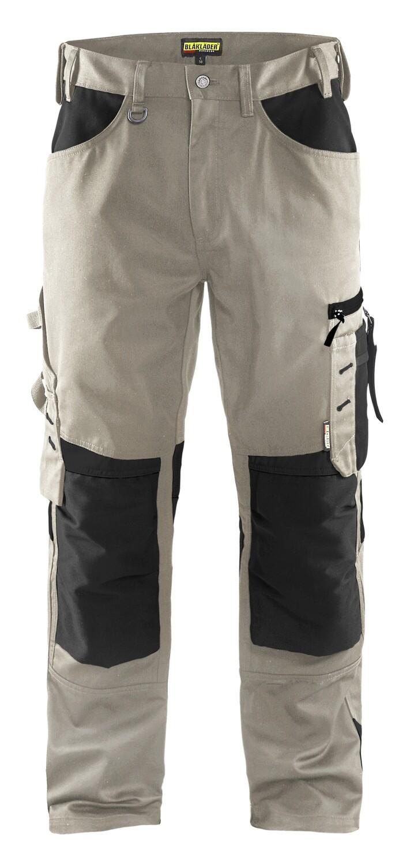 Pantalon artisan sans poches flottantes
