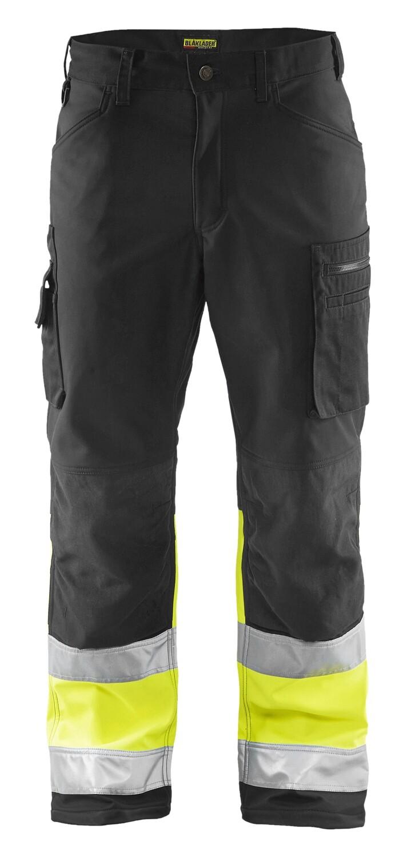 Pantalon softshell haute-visibilité