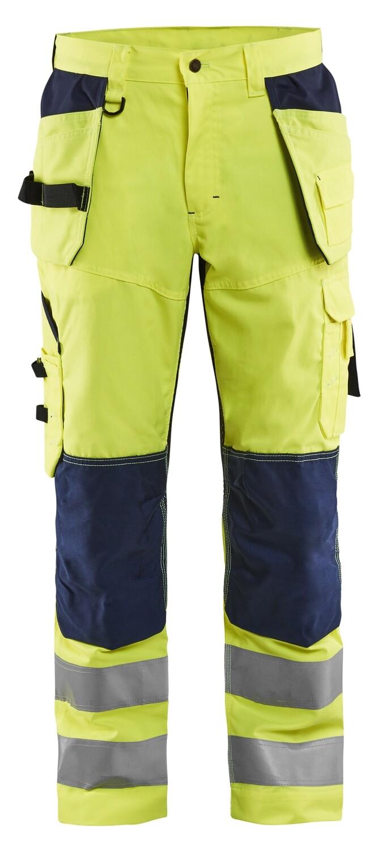 Pantalon artisan aéré haute visibilité +stretch