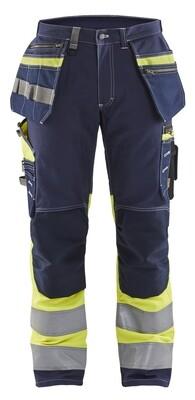 Pantalon artisan haute visibilité +stretch