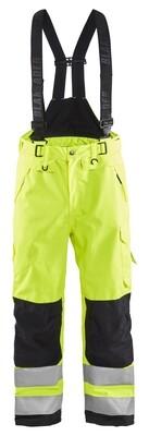 Pantalon à bretelles hardshell haute-visibilité