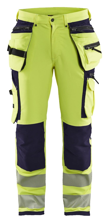 Pantalon artisan haute-visibilité stretch 4D