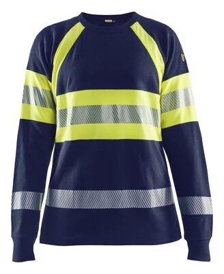 T-shirt manches longues retardant flamme femme