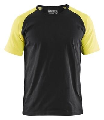 Tshirt détails fluo