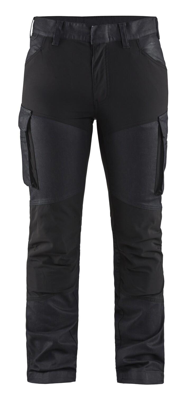 Pantalon maintenance denim stretch 2D femme