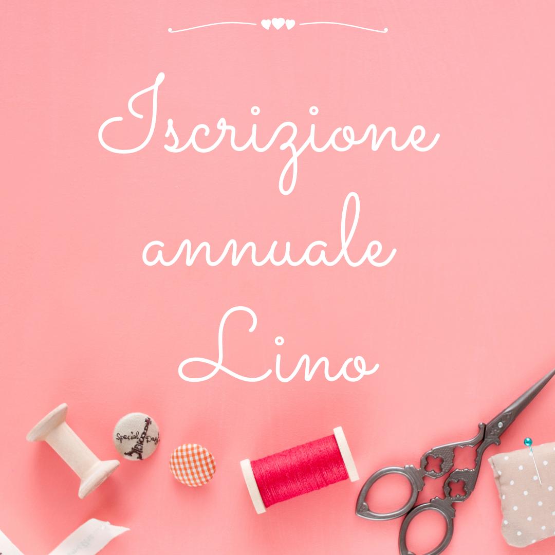 Iscrizione annuale Lino
