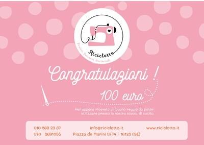 Gift Card del valore di 100 €