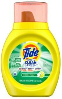 Tide Simply Clean & Fresh 25oz (16 load)