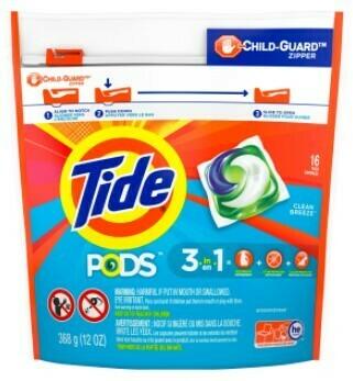 Tide Pods 16ct - Clean Ocean Breeze