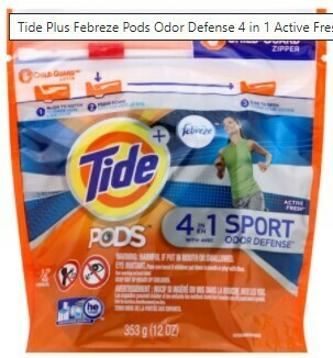 Tide pods 4in1 Sport 12ct