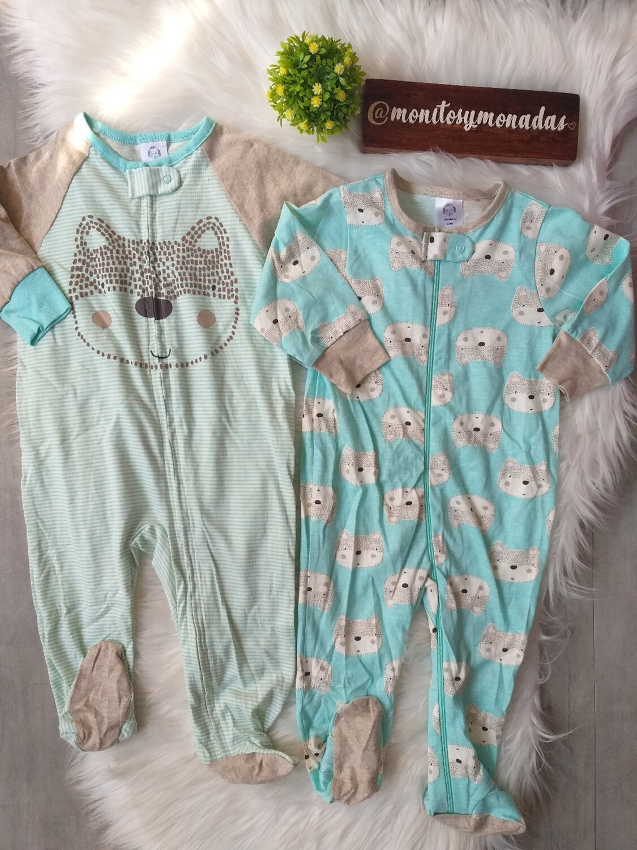 Set 2 pijamas Gerber, 6 a 9 meses