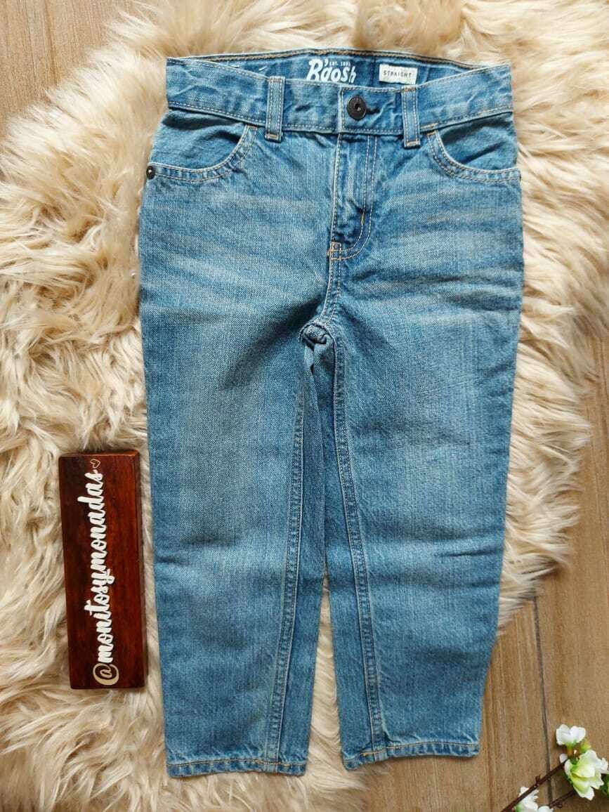 Jeans Straight, Oshkosh, 2 y 4 años