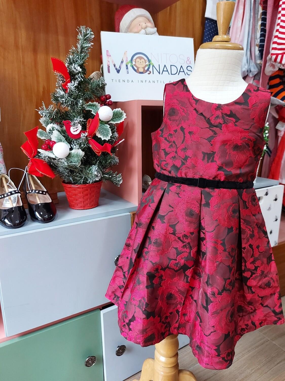 Vestido rojo y negro, Children's Place (18m y 5 años)