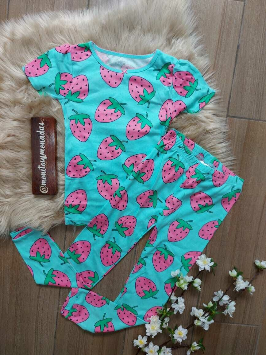 Pijama 2 piezas, pantalón + busito, Carters, 7 años