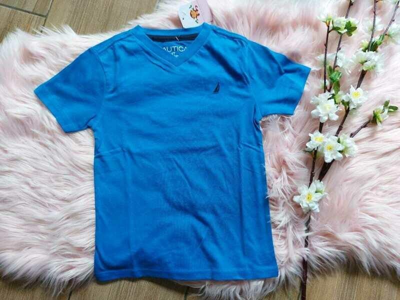 Camiseta azul, 4 años