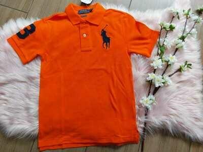 Camiseta Polo Naranja 8 años (small)